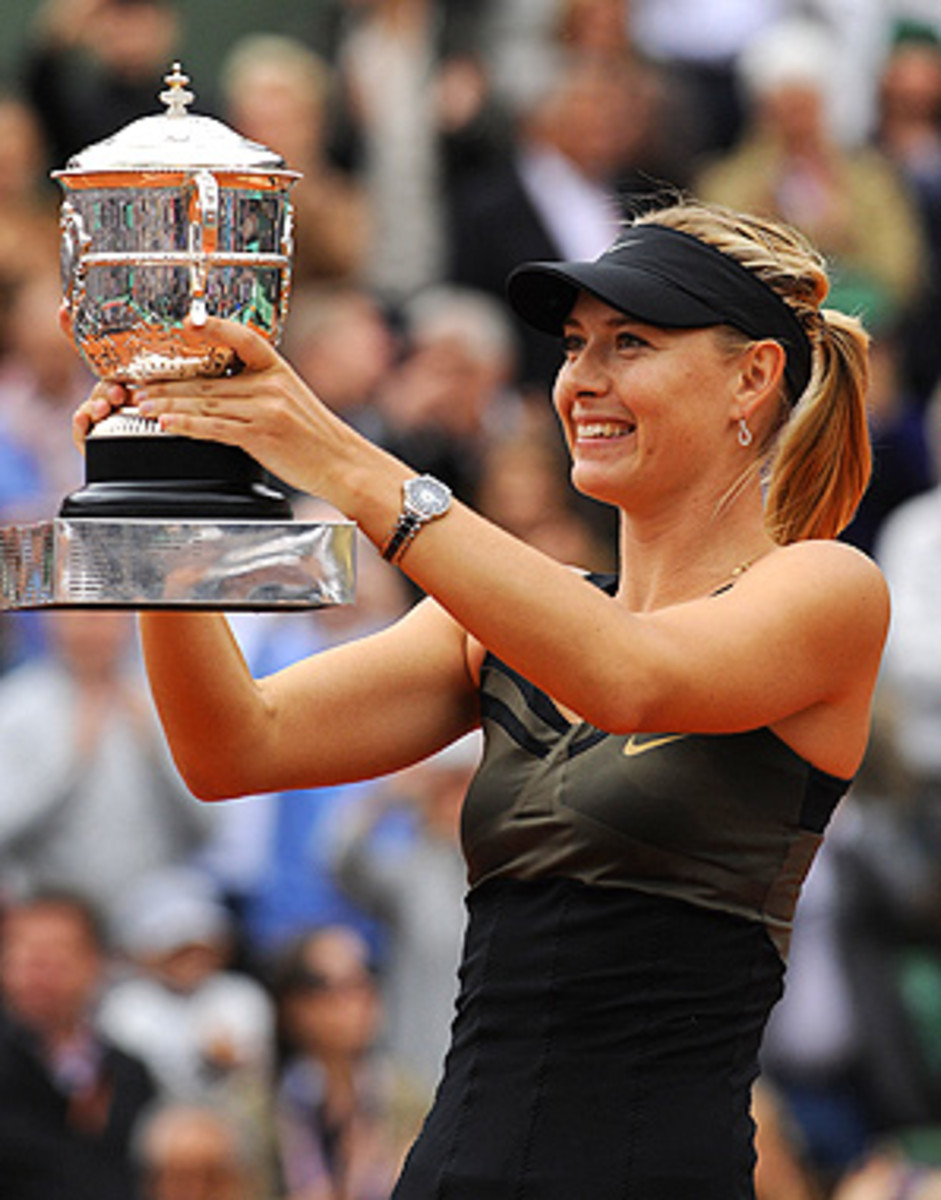 Maria Sharapova said she sometimes had doubts after her shoulder surgery, but her French Open win erased any hesitations.