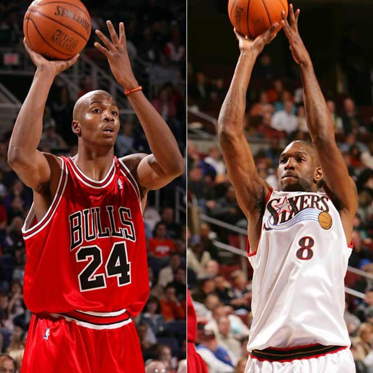 Bulls PF: Tyrus Thomas vs. Joe Smith