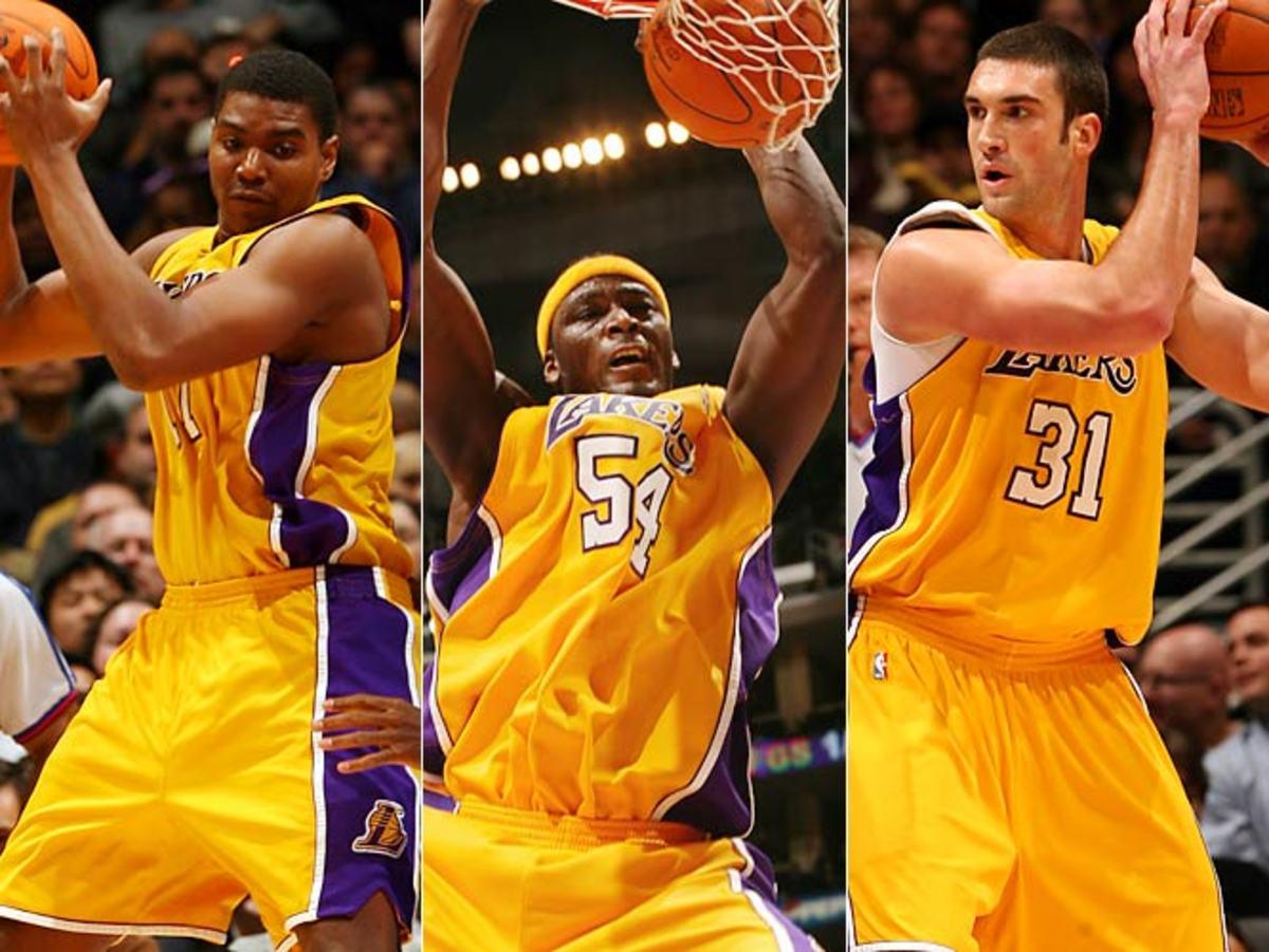 Lakers C: Andrew Bynum vs. Kwame Brown vs. Chris Mihm
