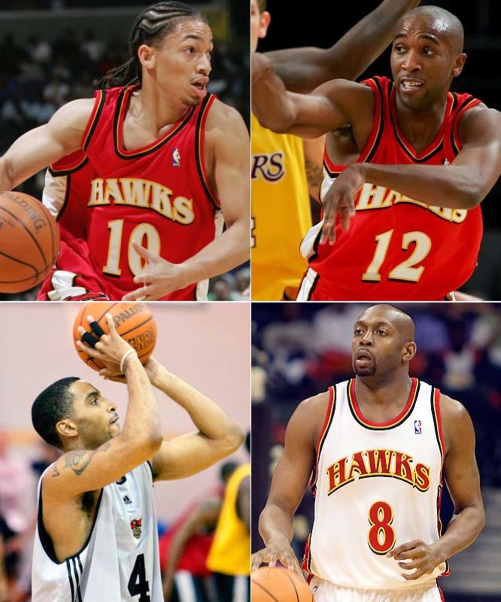 Hawks PG: Tyronn Lue vs. Speedy Claxton vs. Anthony Johnson vs. Acie Law