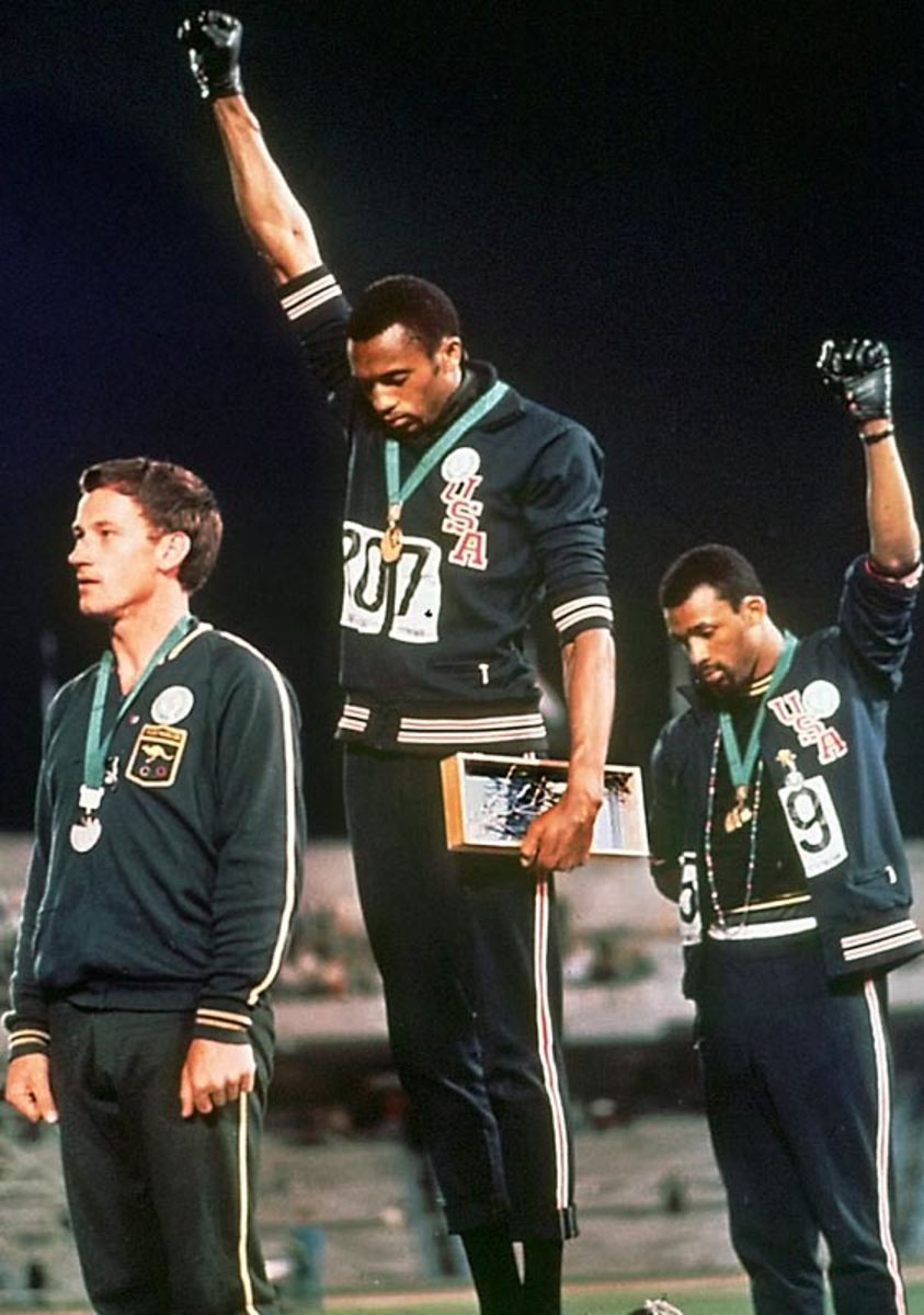 Tommie Smith and John Carlos (1968)