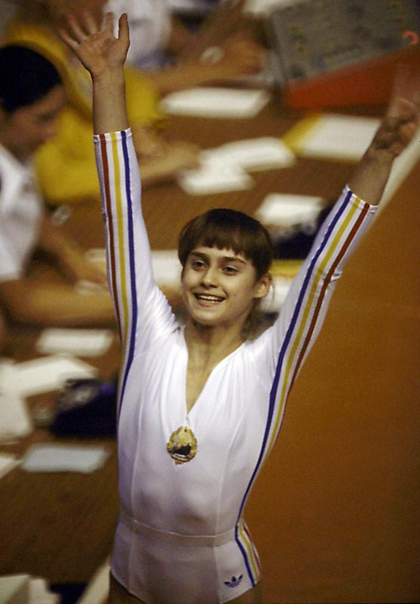 Nadia Comaneci (1976)