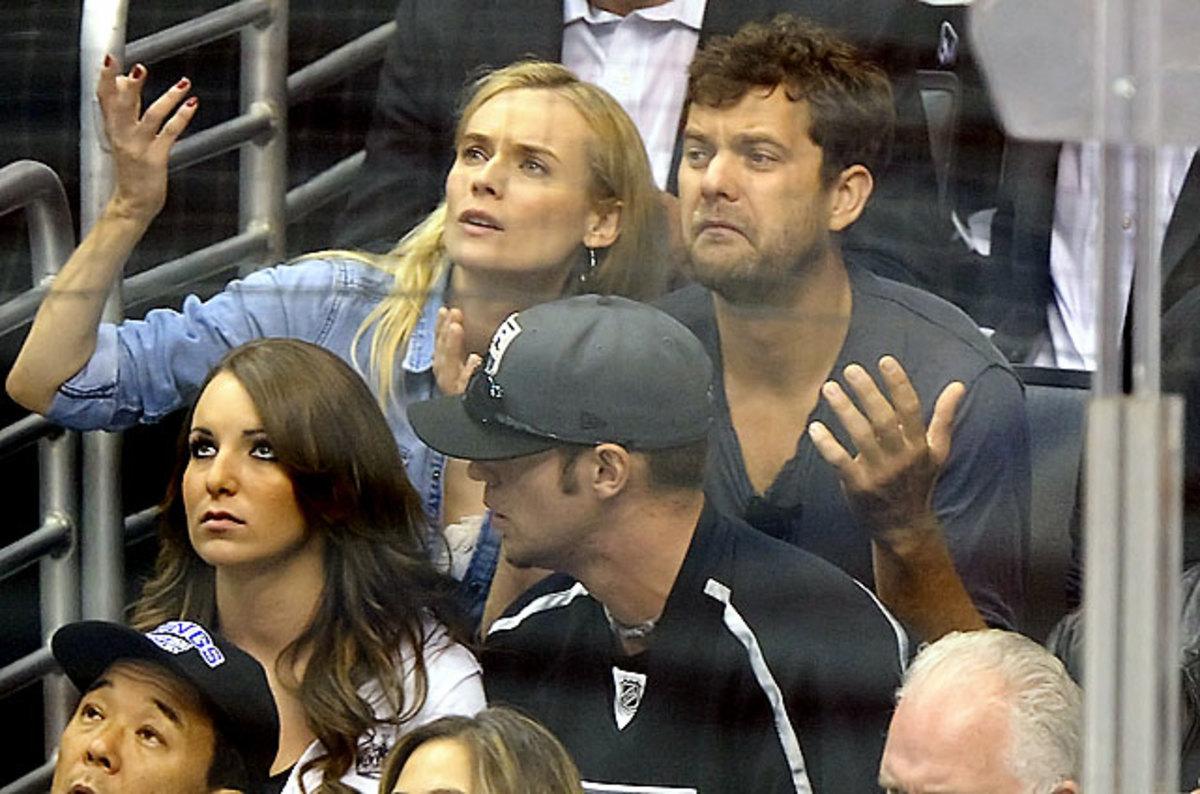 Diane Kruger and<br> Joshua Jackson