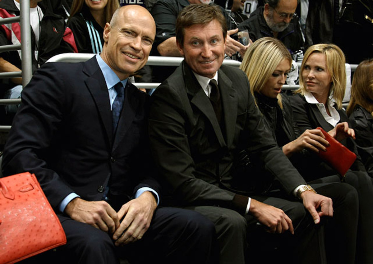 Mark Messier and<br> Wayne Gretzky