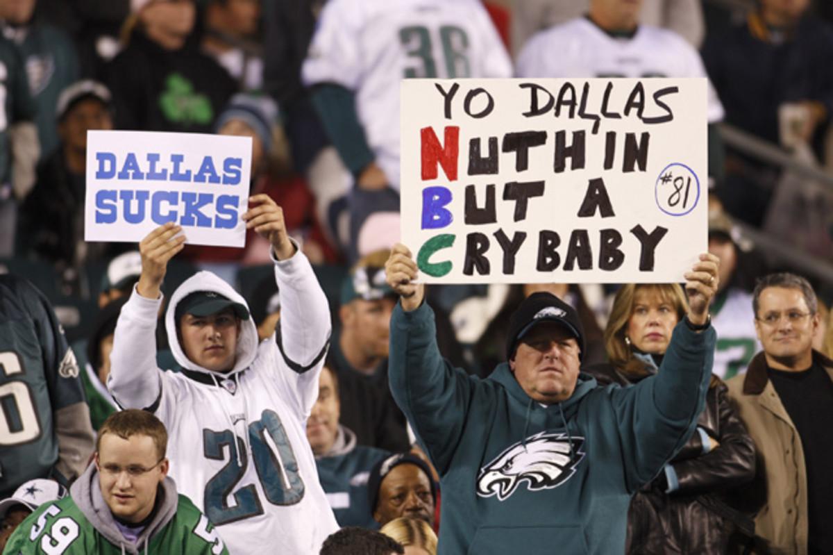 Eagles fans suck
