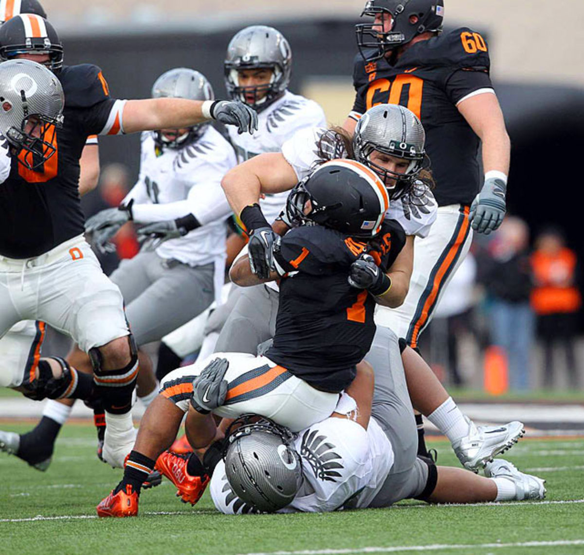 Defeated Oregon State 37-20