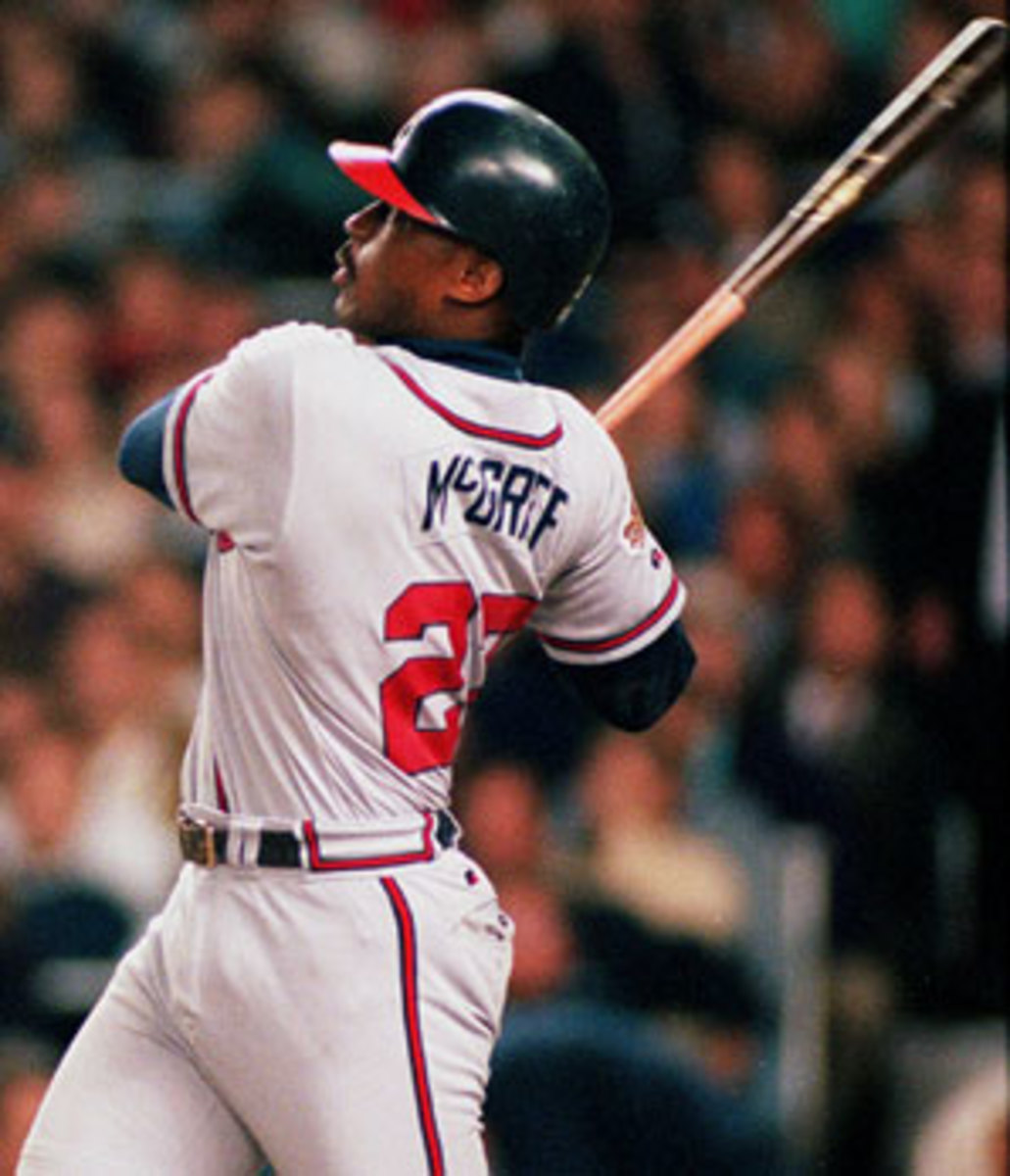 Power and consistency were the two hallmarks of Fred McGriff's outstanding career. (AP)
