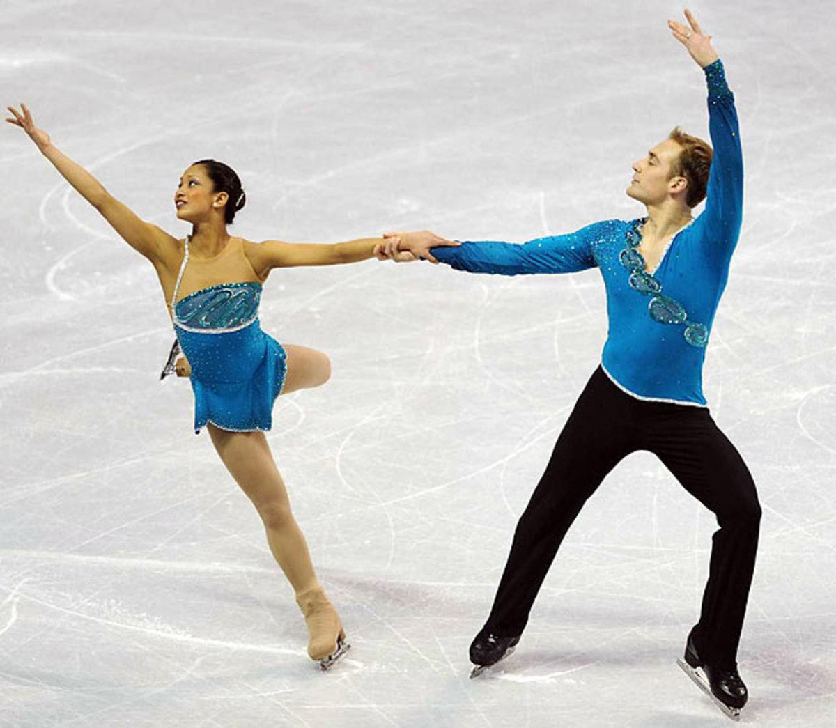 Amanda Evora and Mark Ladwig