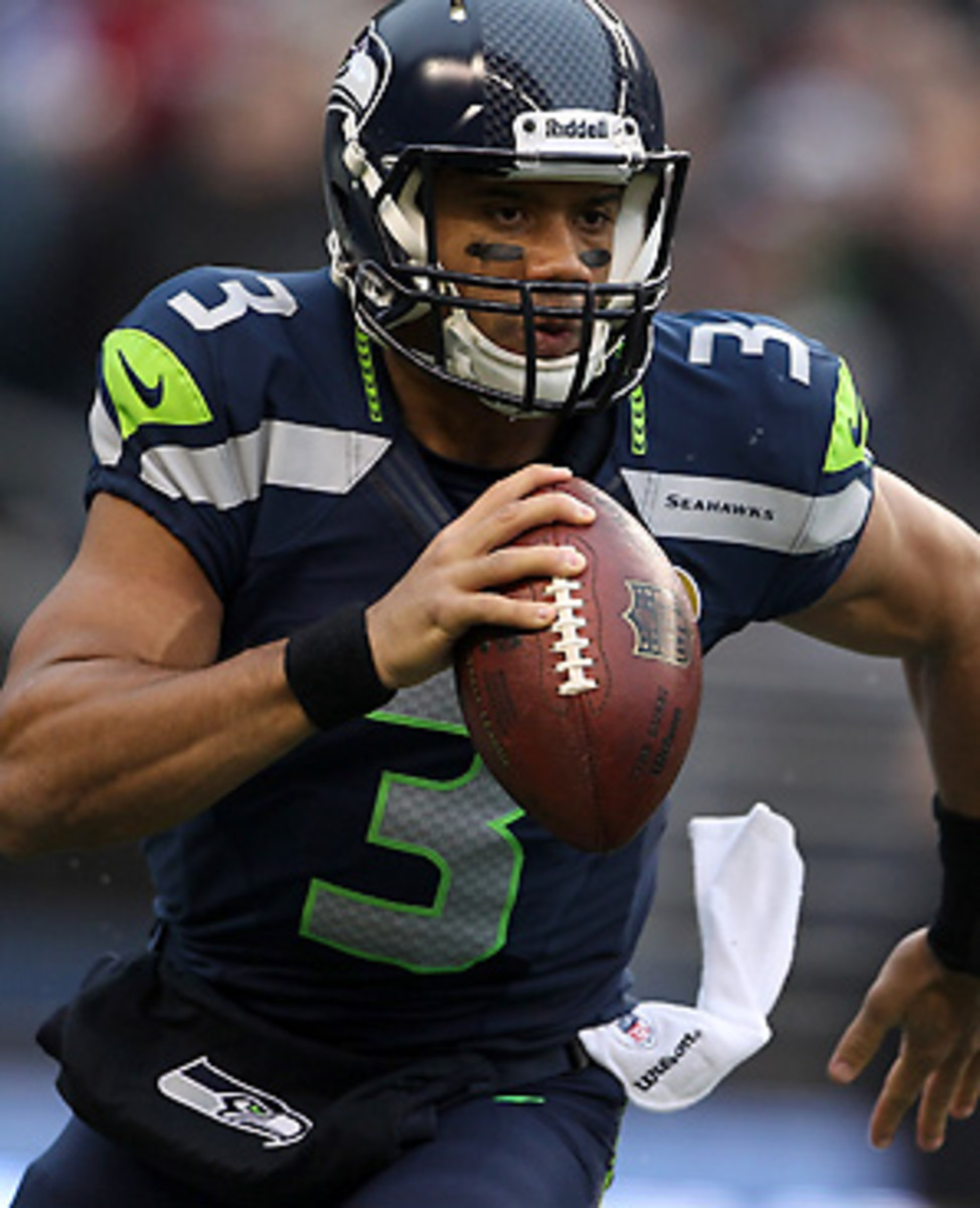 Russell Wilson is starting to earn some Offensive Rookie of the Year hype after the discussion was focused on Andrew Luck and Robert Griffin III most of the season.