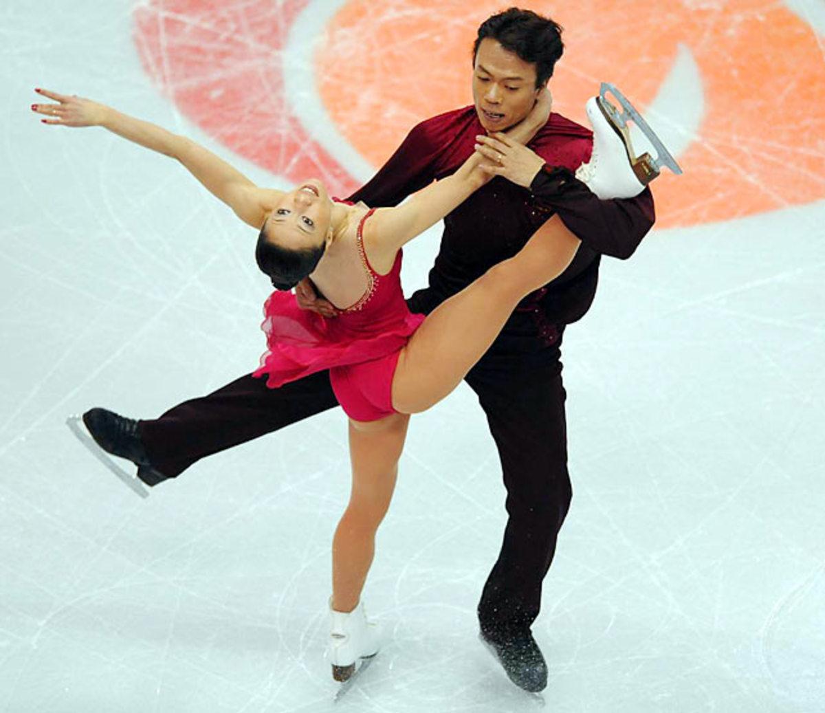Shen Xue and Zhao Hongbo