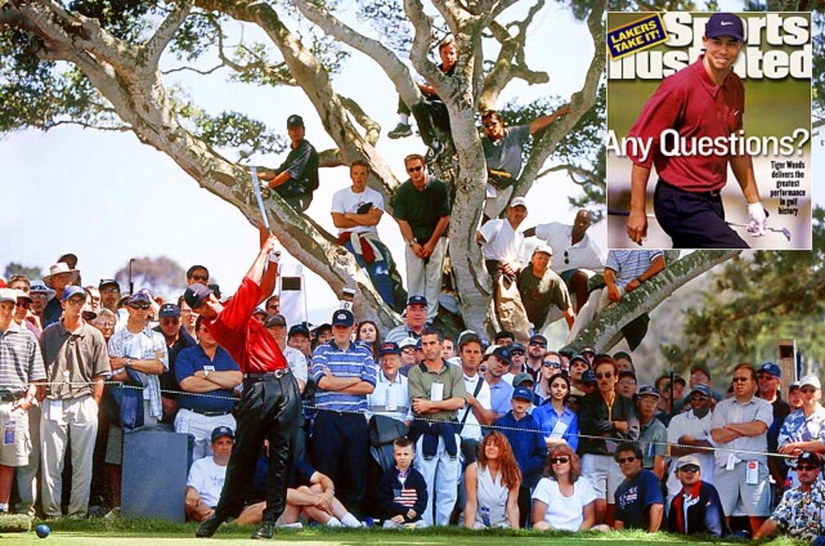 Tiger Woods wins U.S. Open by 15 shots