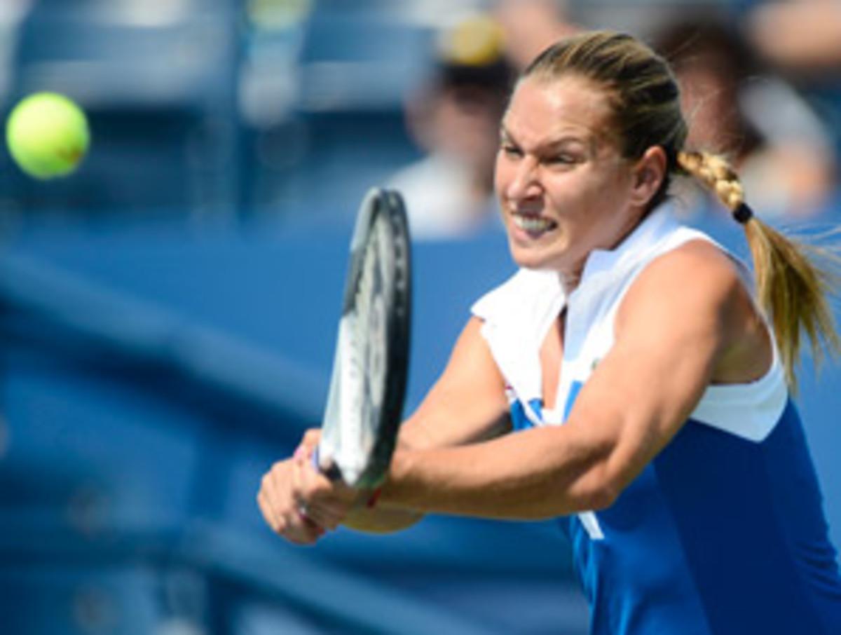 Dominika Cibulkova reached the third round of the U.S. Open two weeks ago.