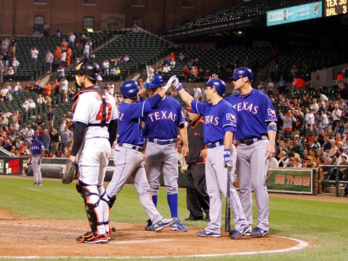 Texas Rangers 30, Baltimore Orioles 3