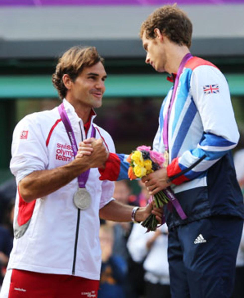 Roger Federer, Andy Murray