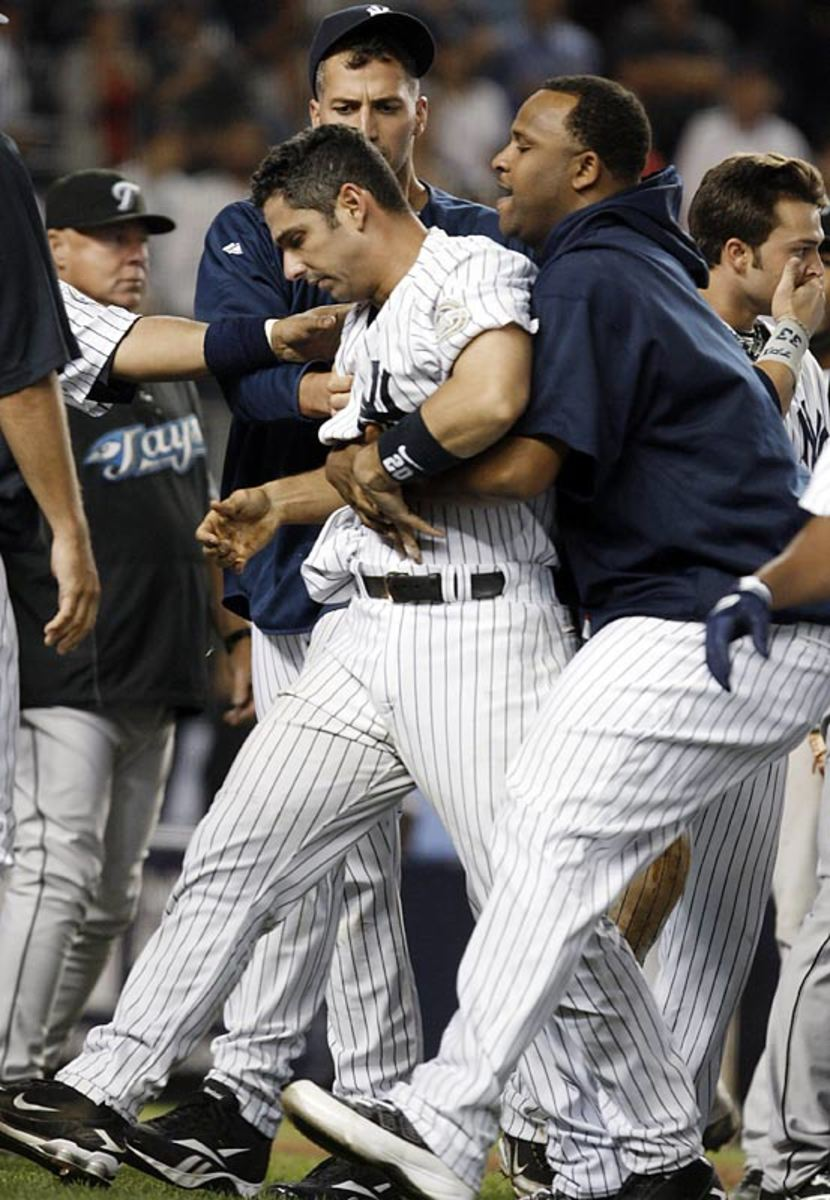 Yankees and Blue Jays throw down