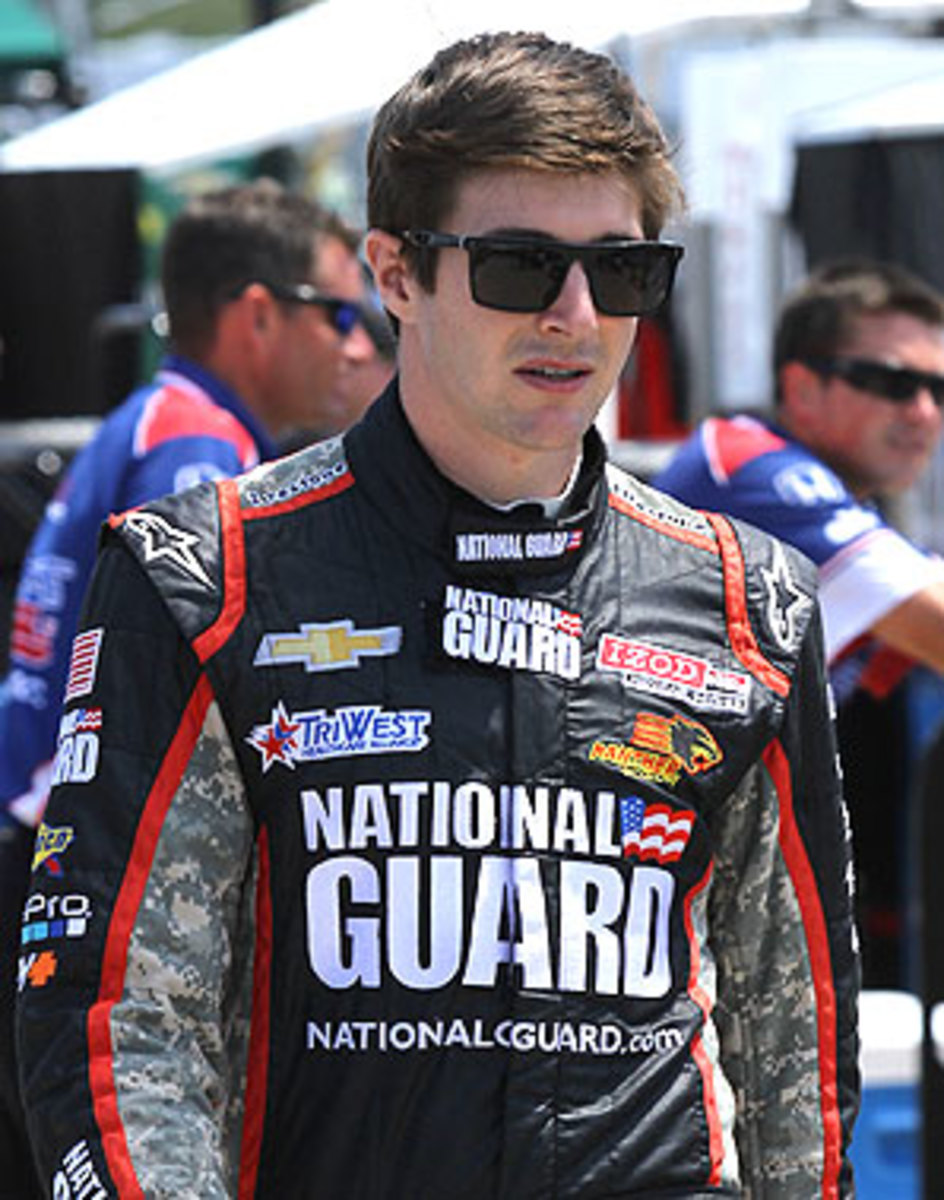 JR Hildebrand got his start in racing at Sonoma Raceway, formerly known as Sears Point, back in 2002.