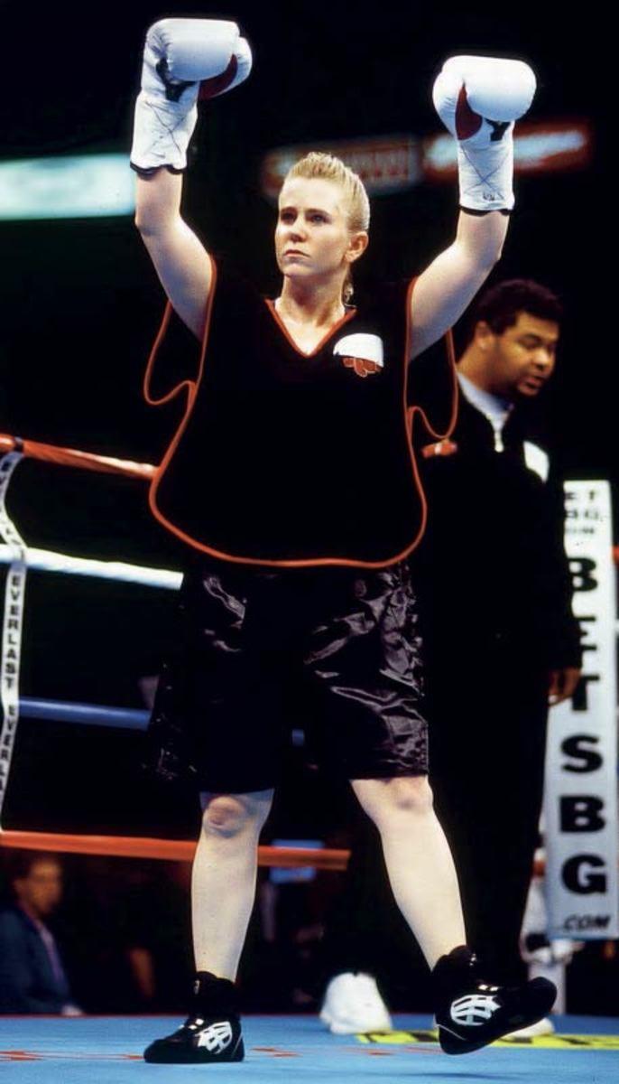 Tonya Harding, boxer