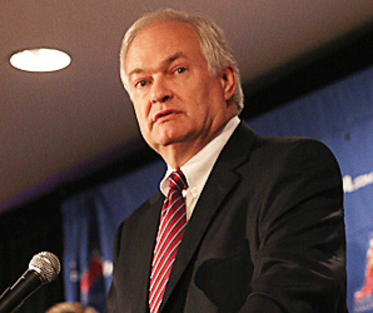 The NHL has accused the players association, headed by Don Fehr, of bargaining in bad faith.