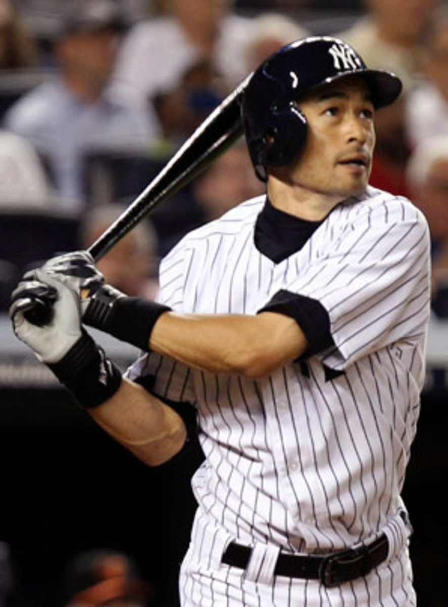 Ichiro experienced a career revival after being traded to the Yankees at midseason. (AP)