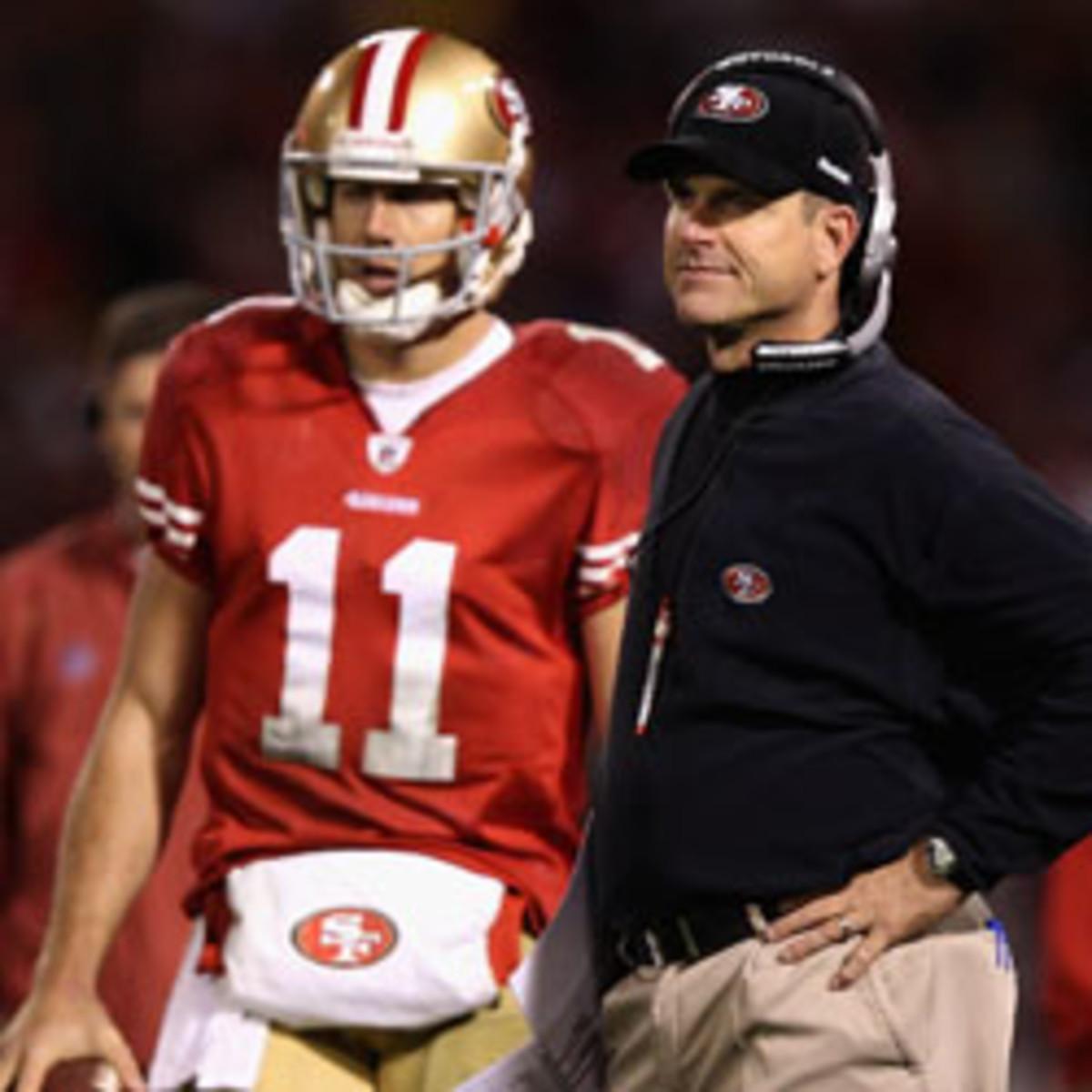 Jim Harbaugh, San Francisco 49ers