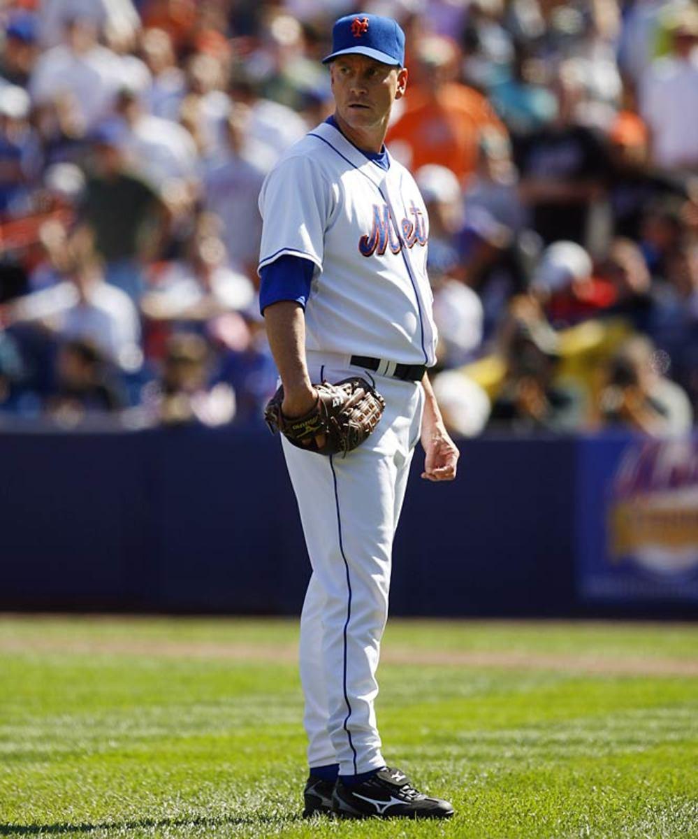 Tom Glavine, free-agent pitcher and Massachusetts native
