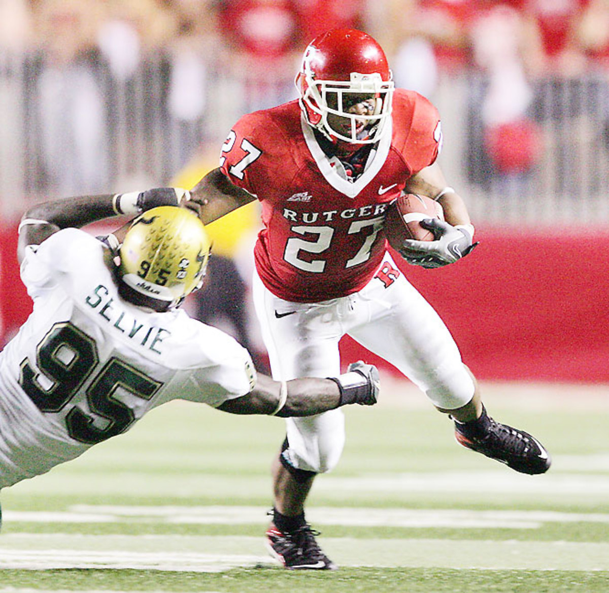 Rutgers 30, No. 2 South Florida 27