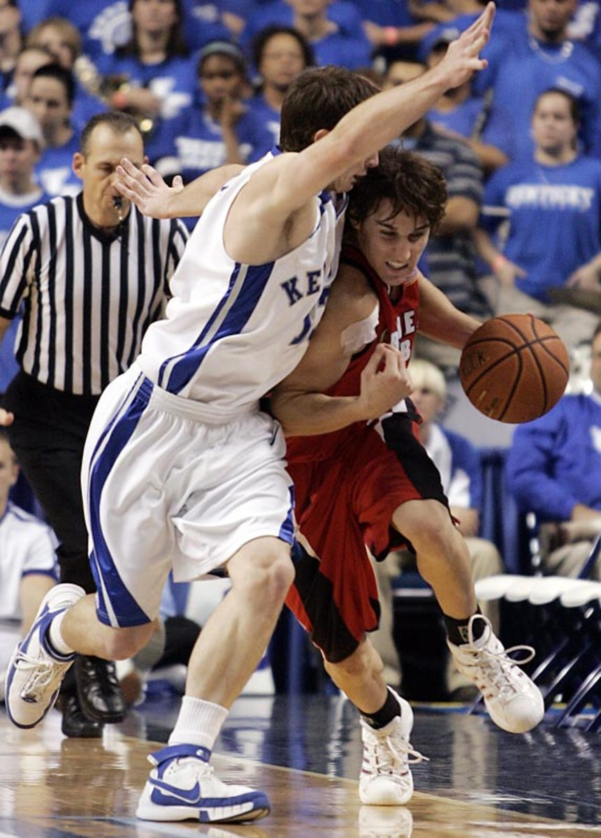 Gardner-Webb 84, Kentucky 68   Nov. 7, 2007