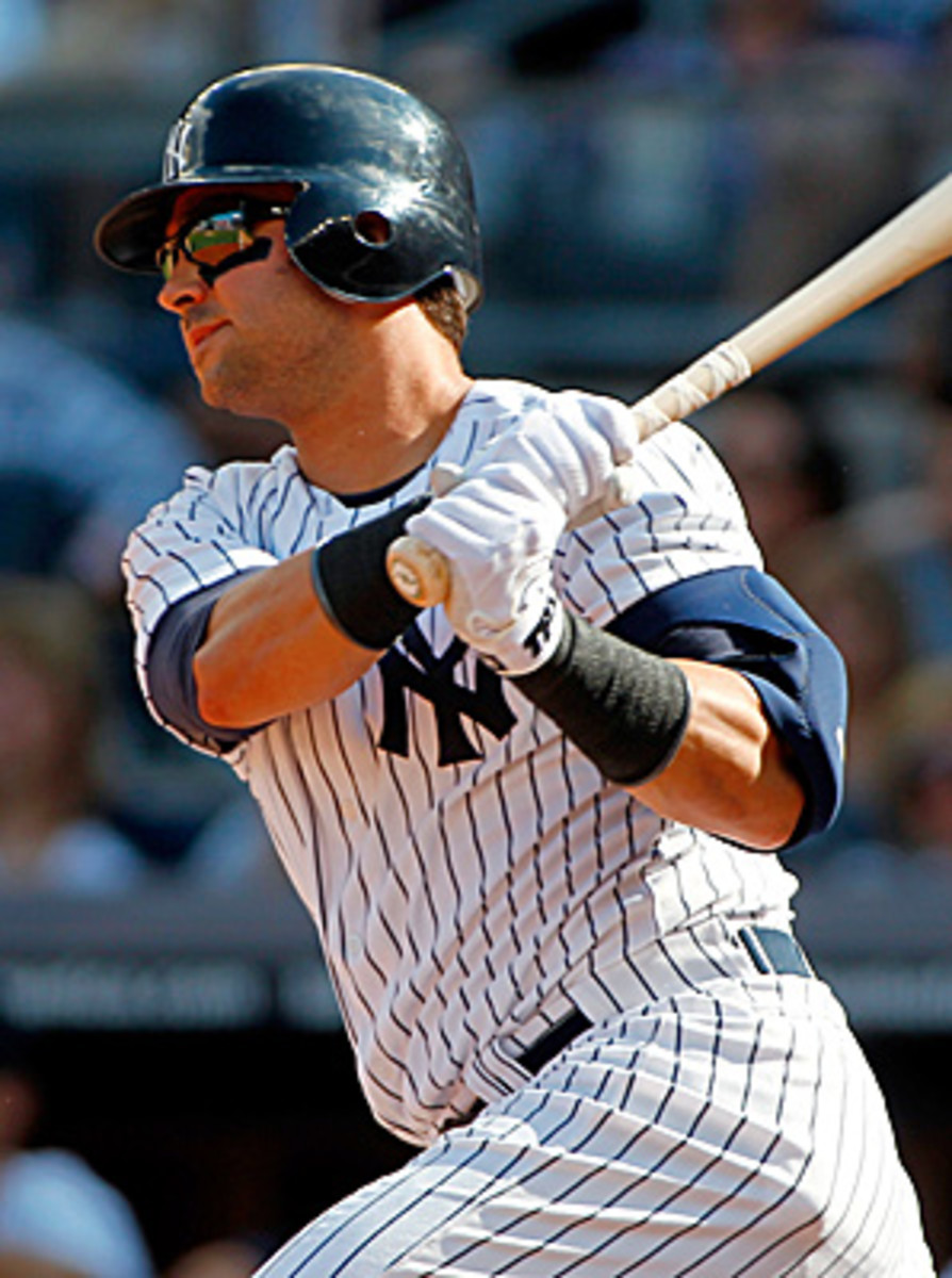 A switch-hitter, Nick Swisher hit .272 this season with 24 homers and 93 RBIs.