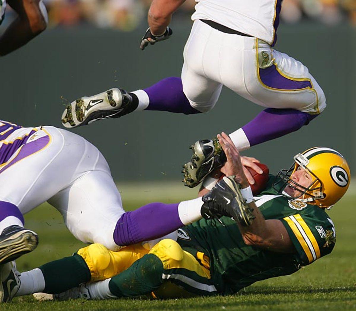 Packers 34, Vikings 0