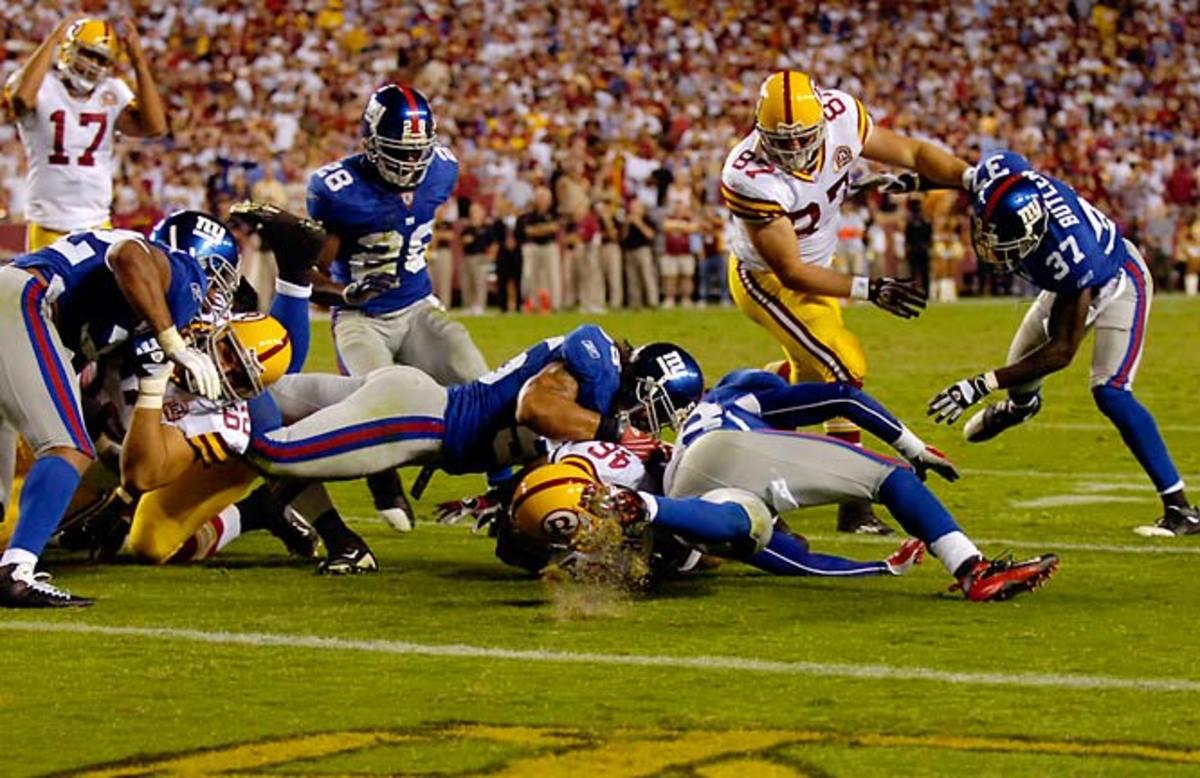 Giants 24, Redskins 17