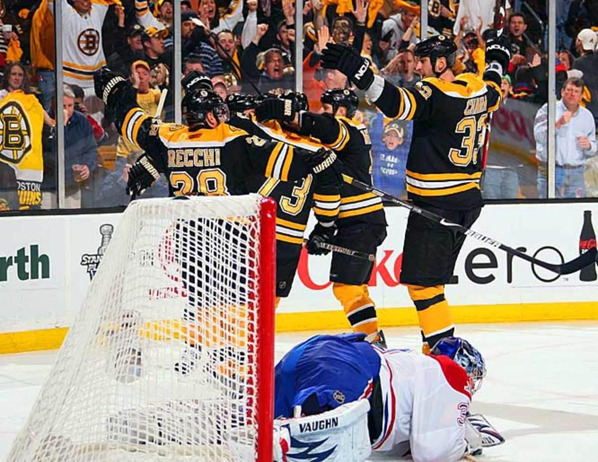 Bruins celebrate