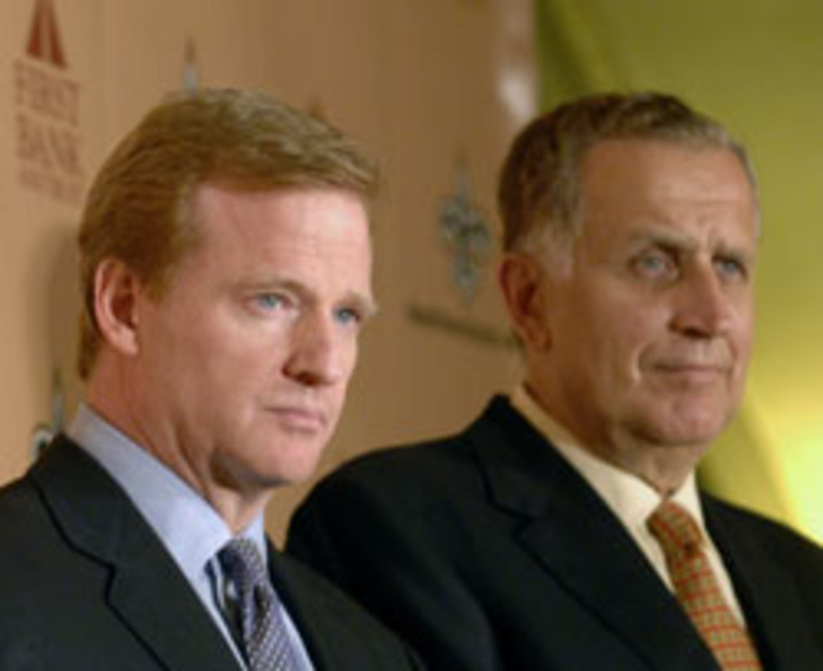 Roger Godell and Paul Tagliabue