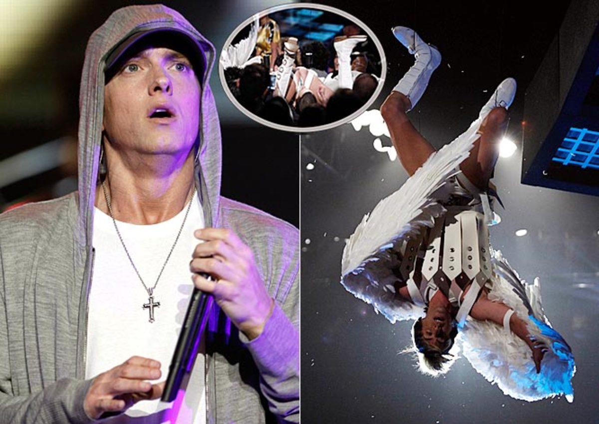 Eminem and Bruno