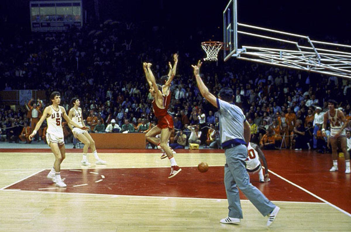 1972 Soviet Union Olympic Basketball Team