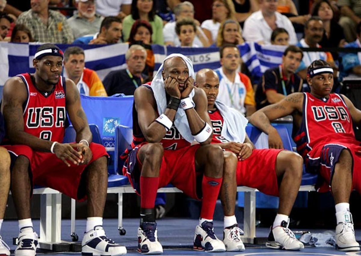 2004 Team USA men's basketball