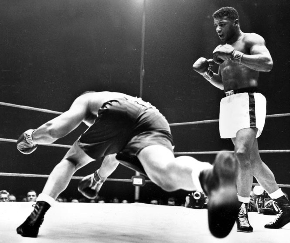 Floyd Patterson and Archie Moore