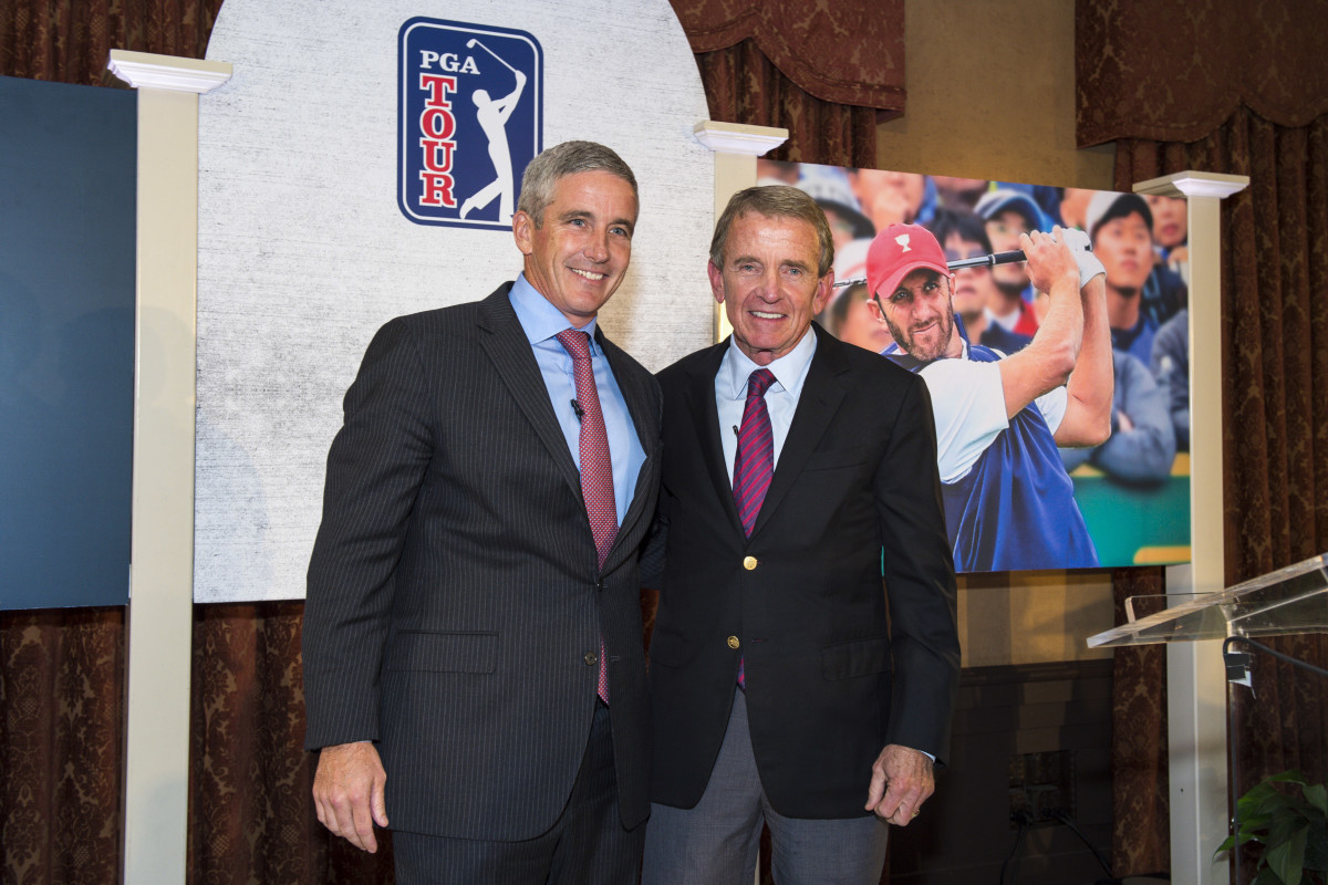 Jay Monahan and Tim Finchem
