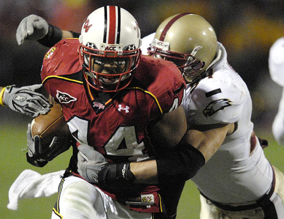 Maryland 42, No. 8 Boston College 35