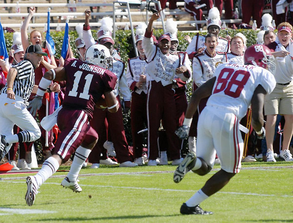 Mississippi State 17, No. 21 Alabama 12