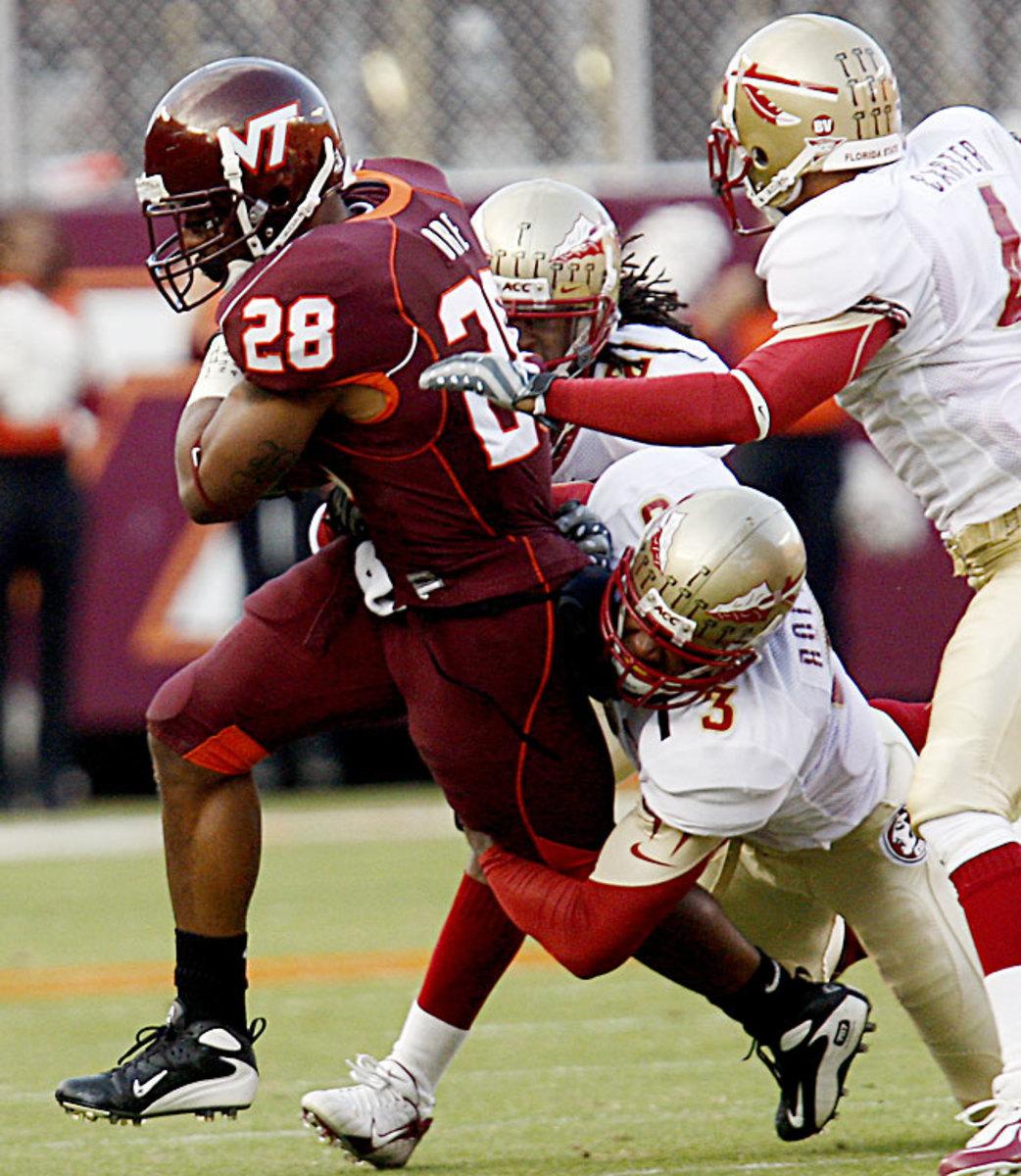 No. 11 Virginia Tech 40, Florida State 21