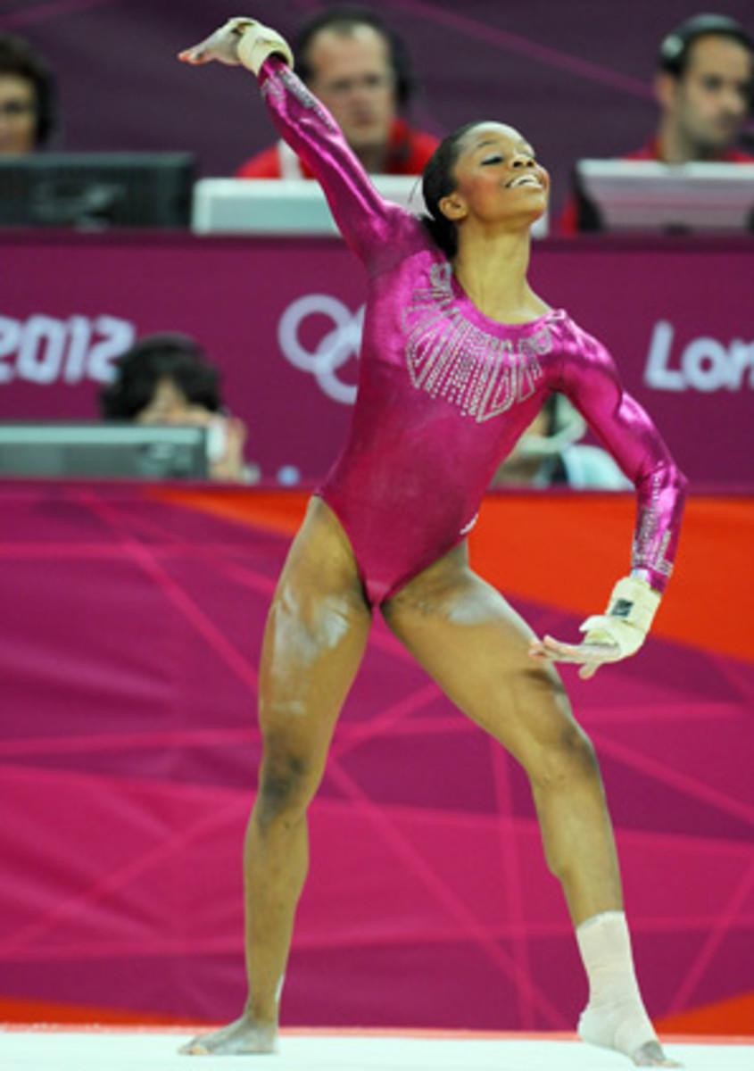 Gabby Douglas won all-around gold at the London Olympics.
