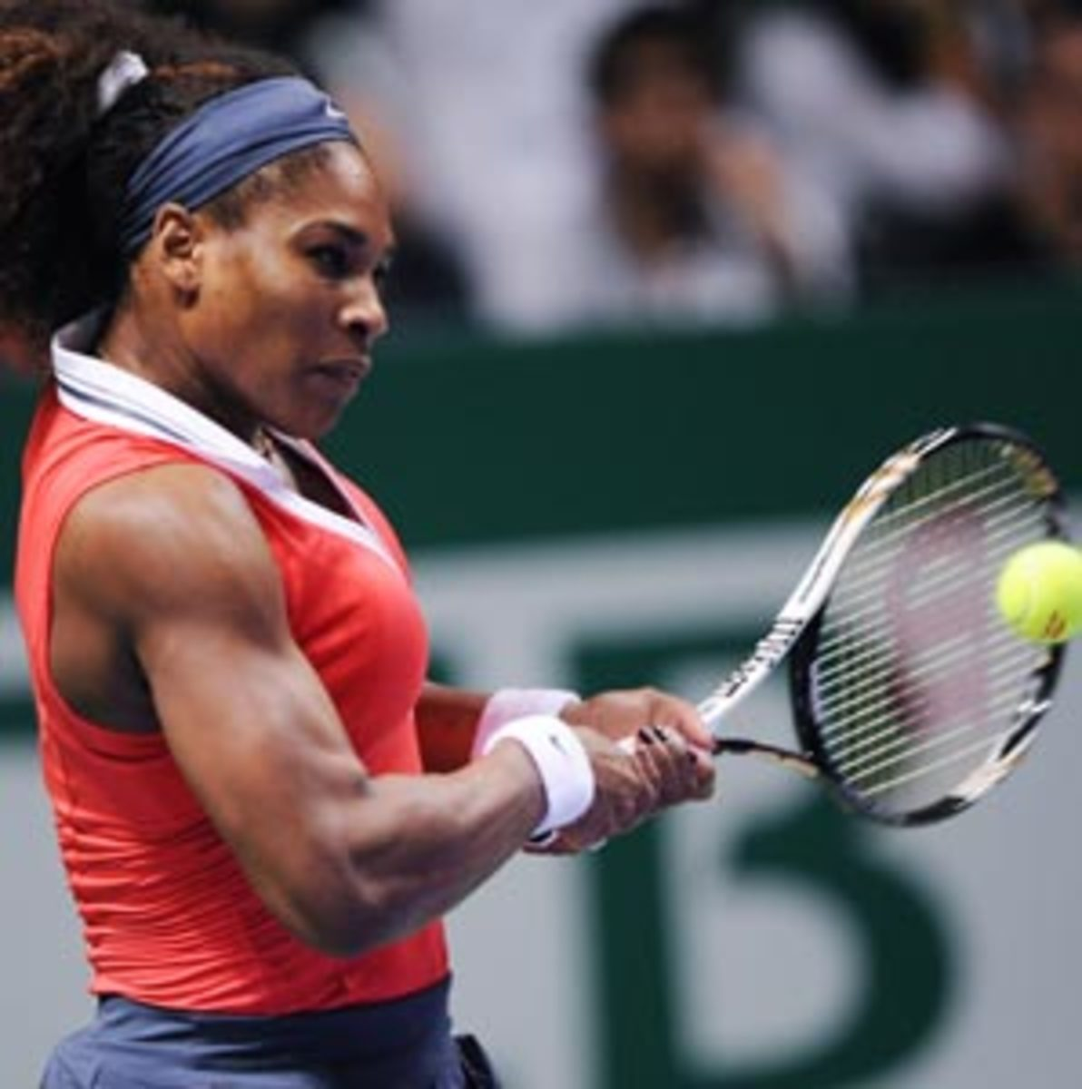 Serena Williams finished the year winning 31 of her final 32 matches.