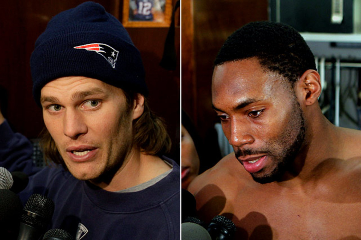 Tom Brady vs. <br> Antonio Cromartie