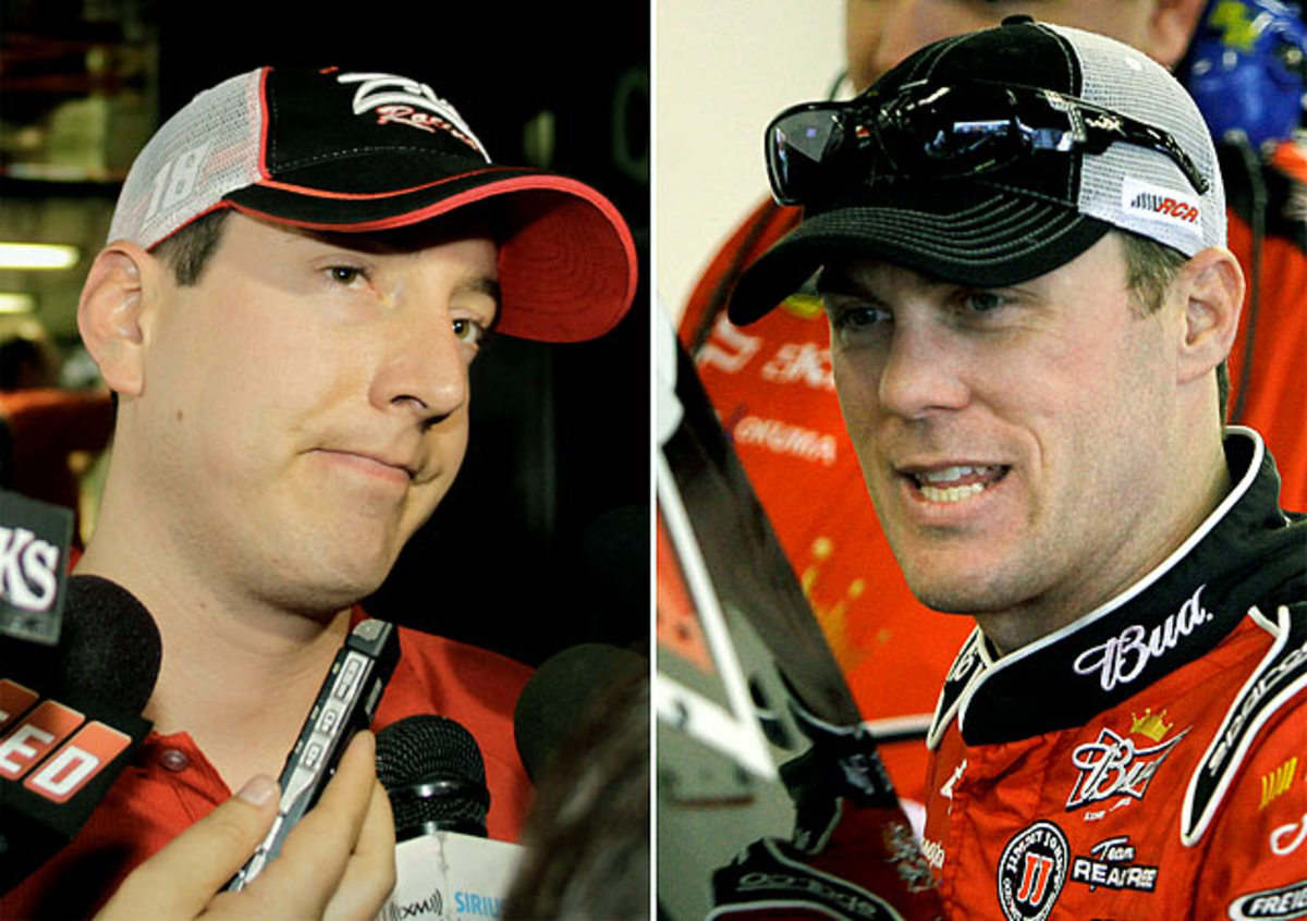 Kyle Busch vs. Kevin Harvick and Richard Childress