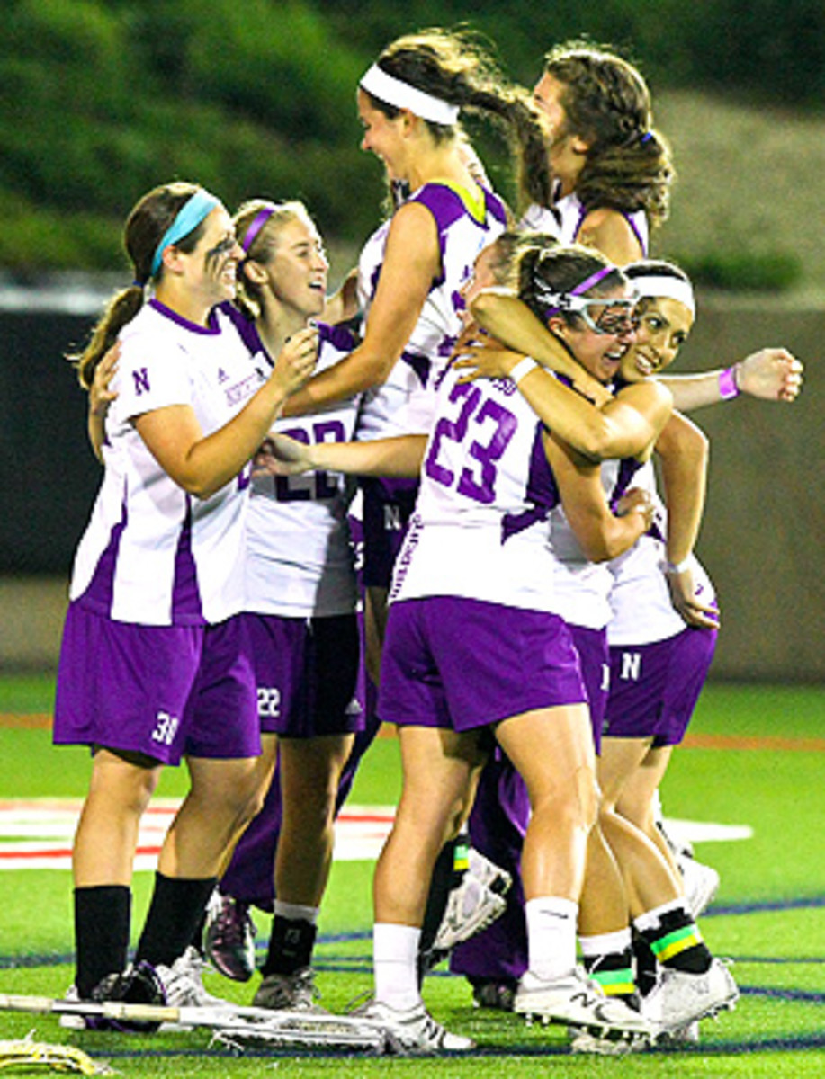 The Northwestern women's lacrosse team won their seventh NCAA title in eight years, beating Syracuse 8-6 in the championship game.