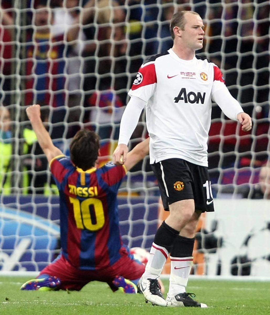 Barcelona 3, United 1