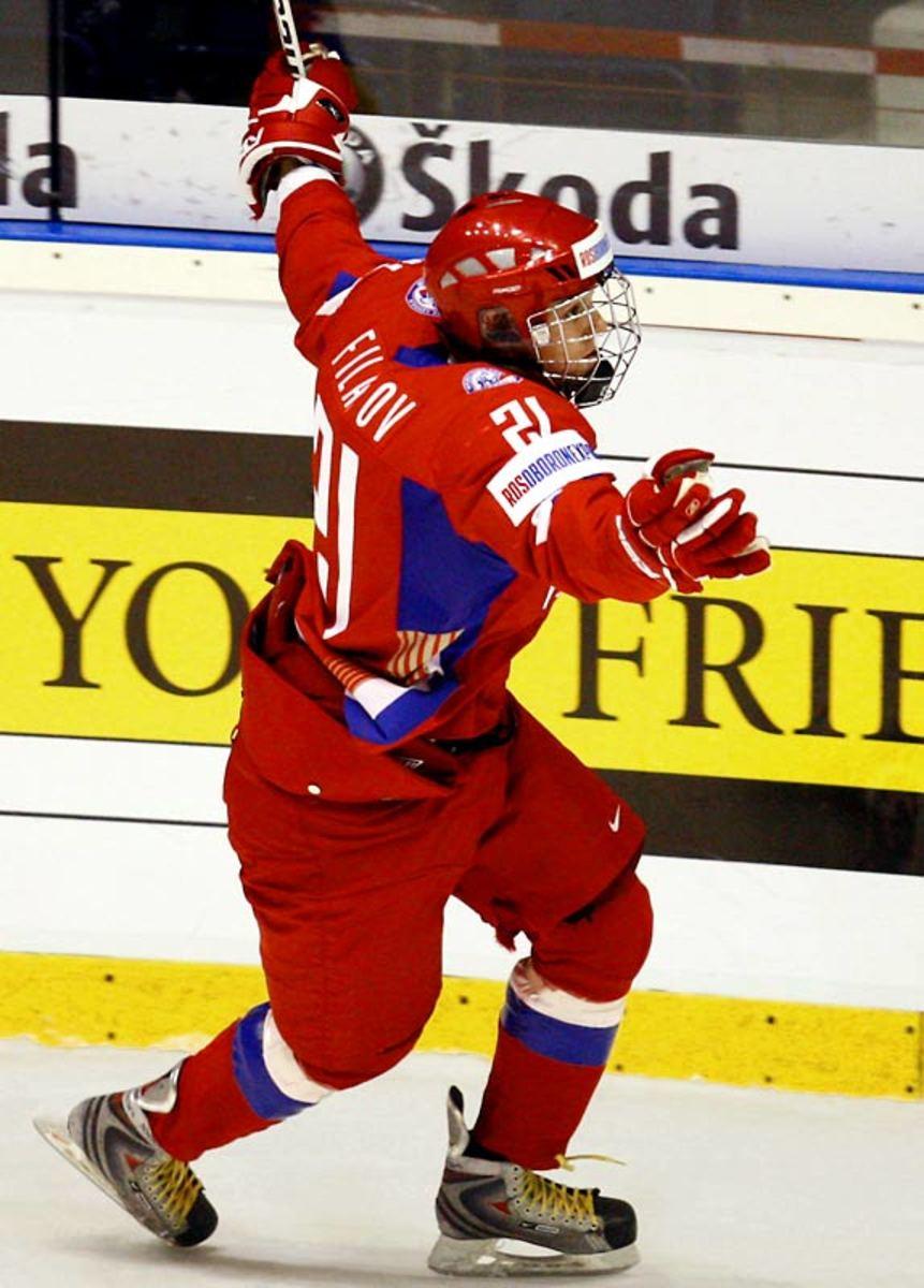 Nikita Filatov, left wing, CSKA-2 (Russia)