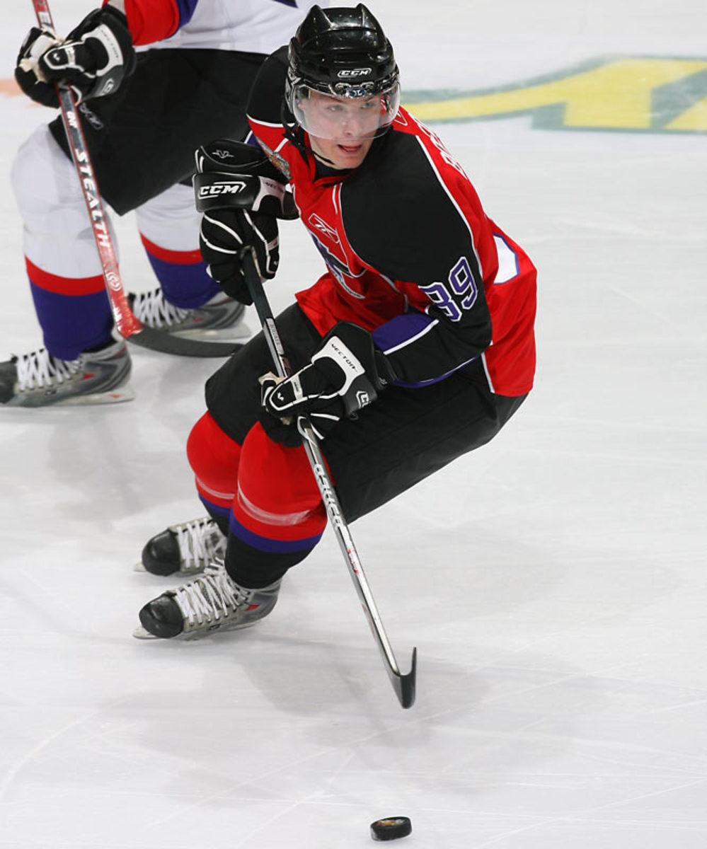 Mikkel Boedker, left wing, Kitchener Rangers (OHL)