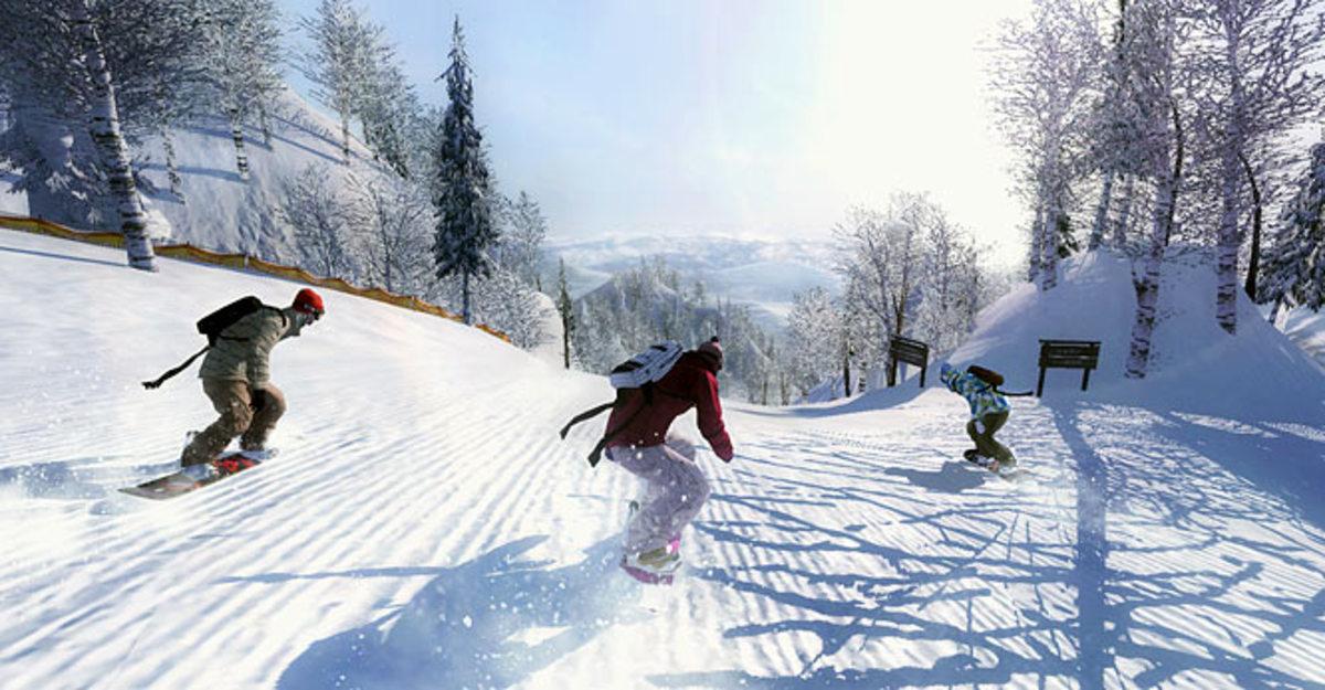 Shaun White Snowboarding   Xbox 360, PS3, Wii   UbiSoft