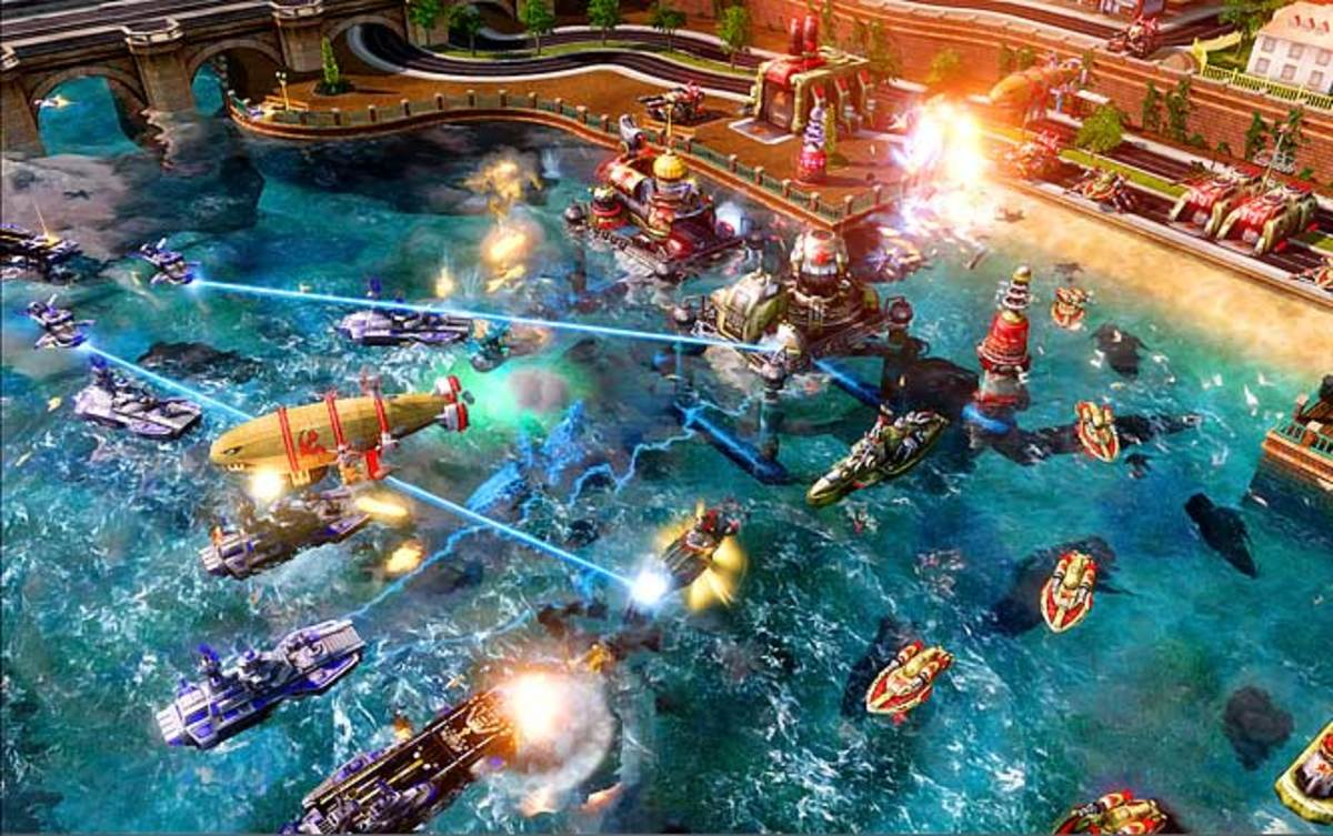 Command & Conquer: Red Alert 3 | Xbox 360, PS3 | EA